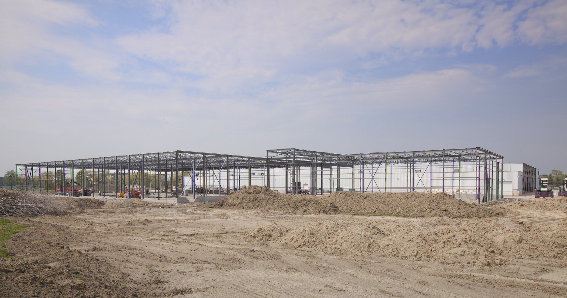 Exterior view #8-overall from back of plant