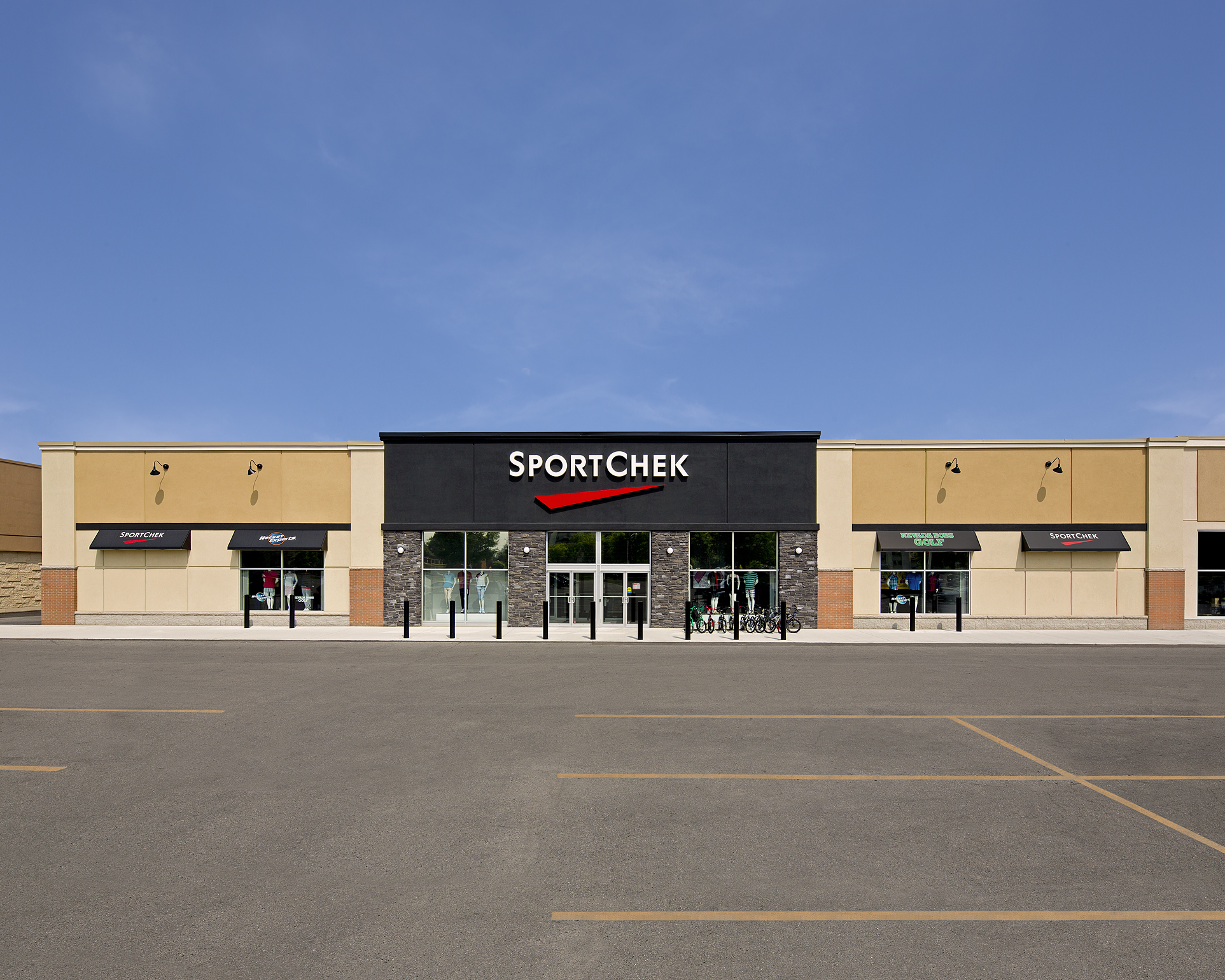 Sport Chek-20x25 size added sky and pavement