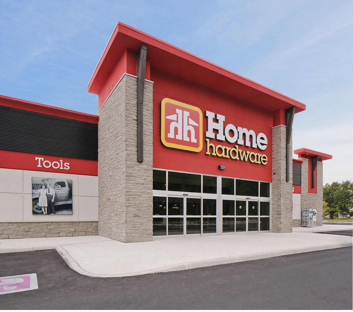 Home Hardware-Close view of entrance view 1