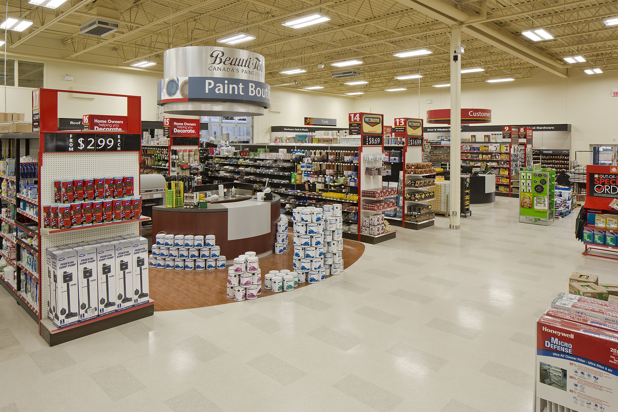 Home Hardware interior view 2