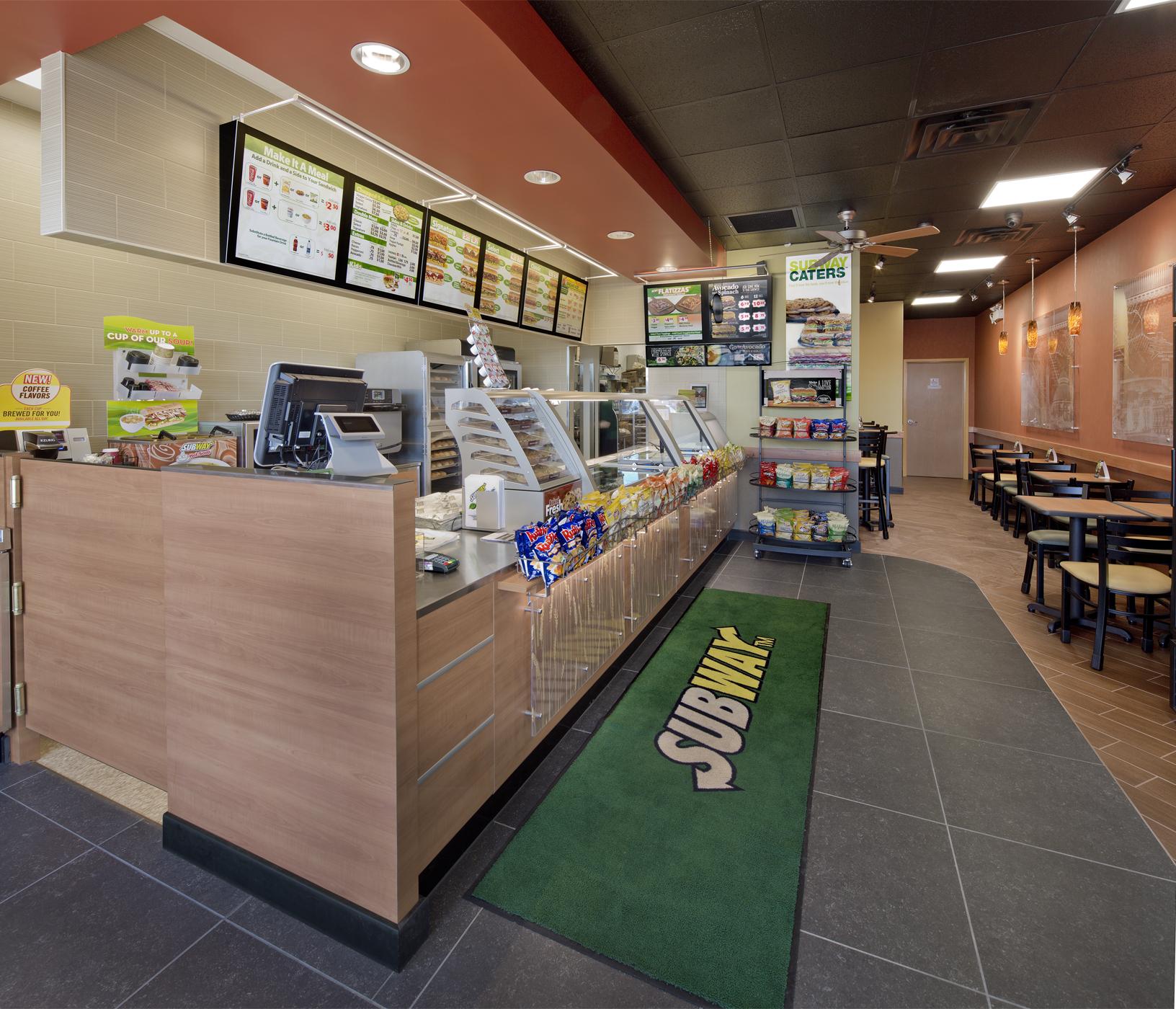 Subway View 1 no employees